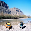 our kayak launch on Rio Grande River in Big Bend N.P.